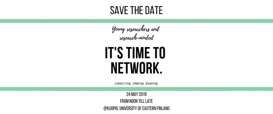 Young researchers – It's time to network!
